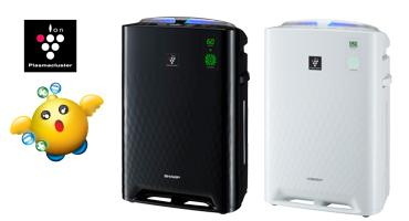 Inteligentne oczyszczacze nawilżacze powietrza Sharp Plasmacluster