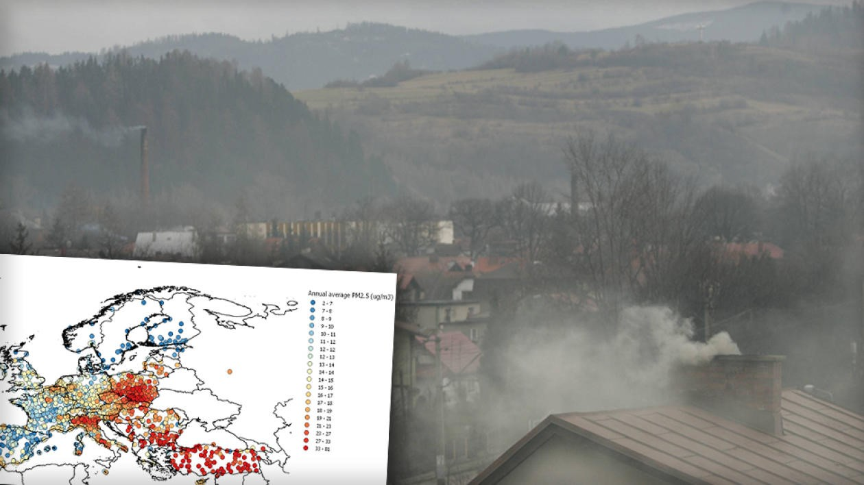 Przerażający raport ws. jakości powietrza. Polskie miasta na czele listy.