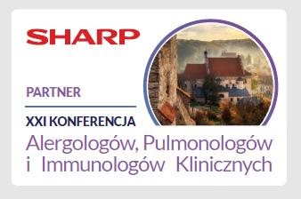 SHARP oficjalnym Partnerem XXI Konferencji Alergologów, Pulmonologów i Immunologów Klinicznych